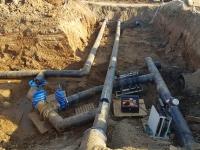 Прокладка сетей водопровода не так проста,как кажется...