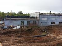 Здание ВНС в начале производства работ по реконструкции