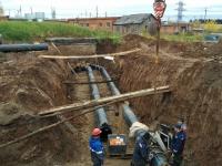 Прокладка наружных подземных технологических трубопроводов
